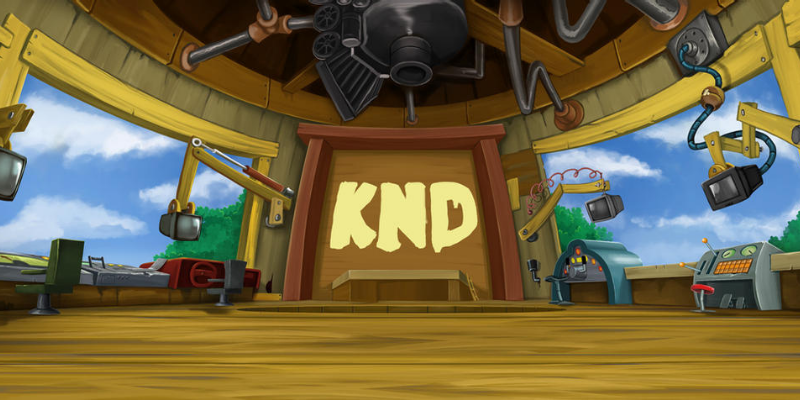 What is the treehouse in KND called?