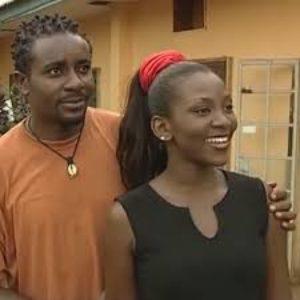 Genevieve Nnaji and Emeka Ike