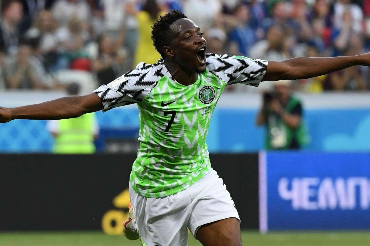 Which English club did Ahmed Musa play for?
