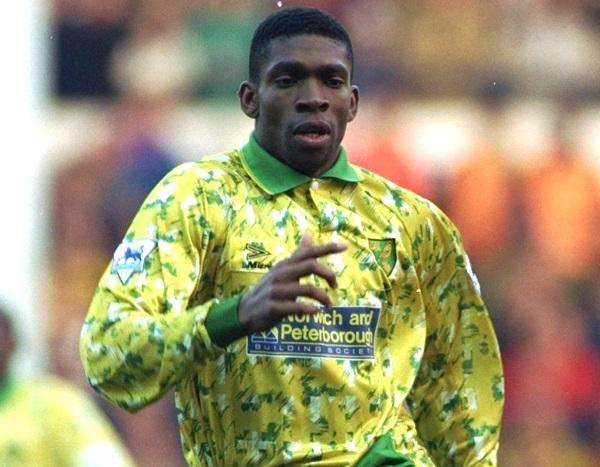 Which English club did Efan Ekoku NOT play for?