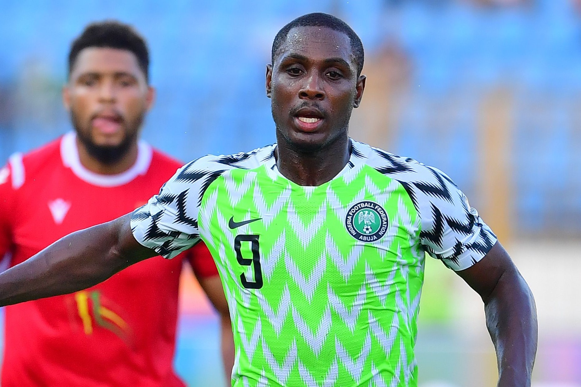 Which English club did Odion Ighalo NOT play for?