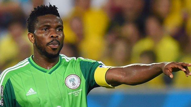 Which club did Joseph Yobo play for?