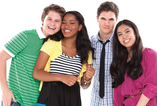 Which Nickelodeon show had Keke Palmer as the lead?