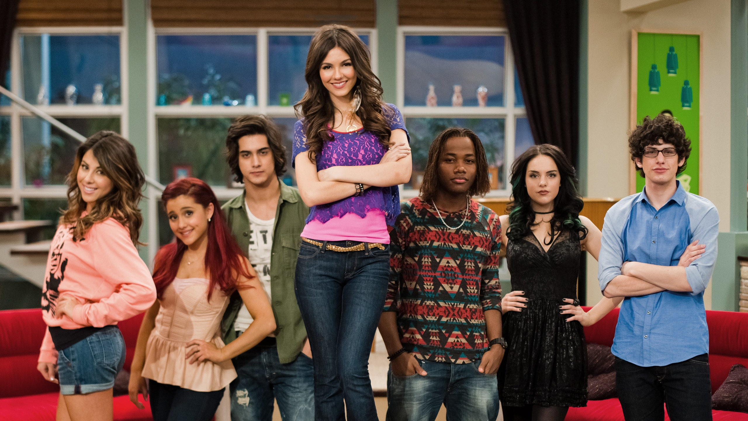 What's the name of the school all the main characters attended on the show