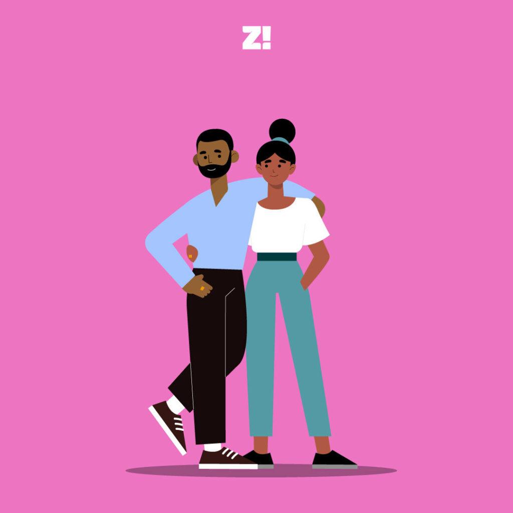 Zikoko love life: best friends to lovers image