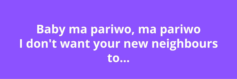 'Ma Pariwo' Zinoleesky