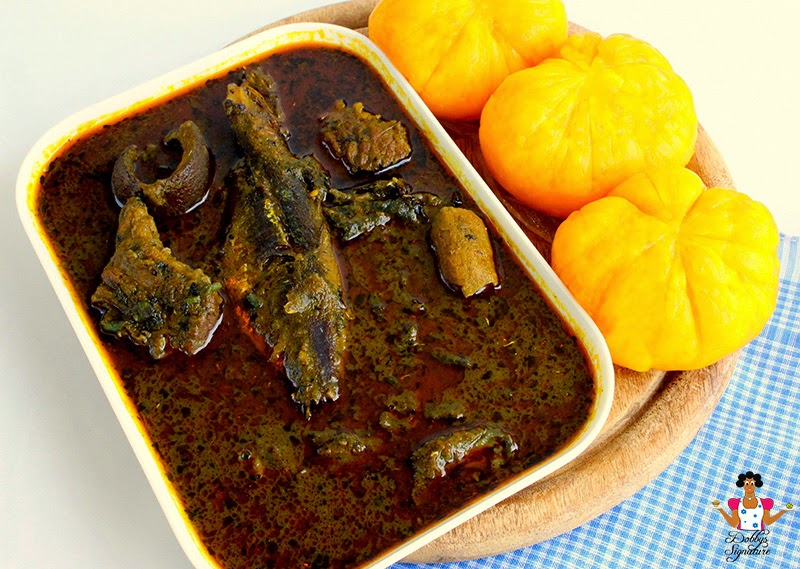 banga and starch Nigerian foods