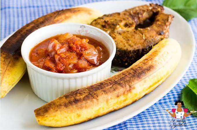 Boli Nigerian foods
