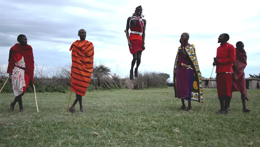 It's almost impossible to beat the Maasai in a jumping contest. Where will you find this tribe?
