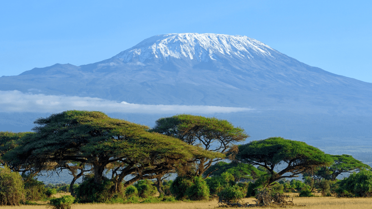 You're taking an afternoon stroll and you stumble across Mt. Kilimanjaro. Which country are you in?