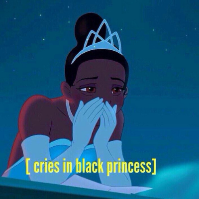 black princess tears meme