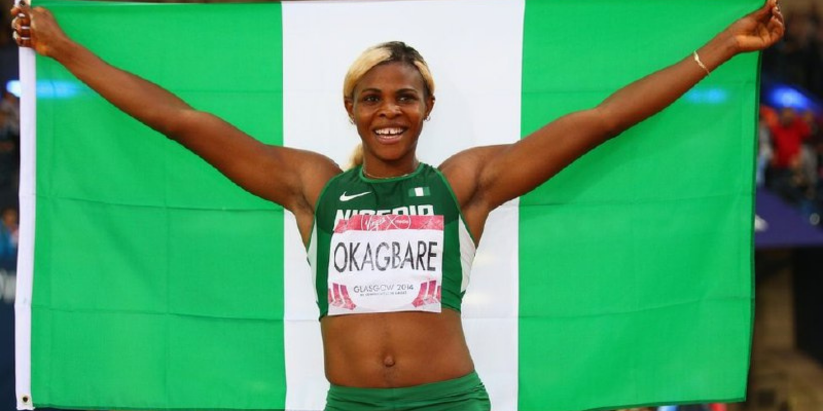 What sport does Blessing Okagbare participate in?