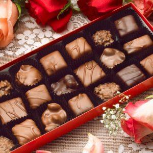 Teddies and chocolates