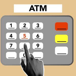 Withdrawal at an ATM