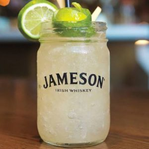 Jameson with Sprite and Lime