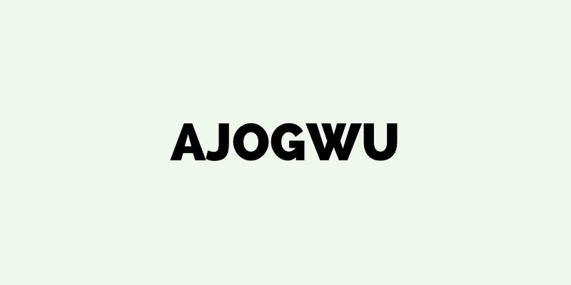 An Igala name