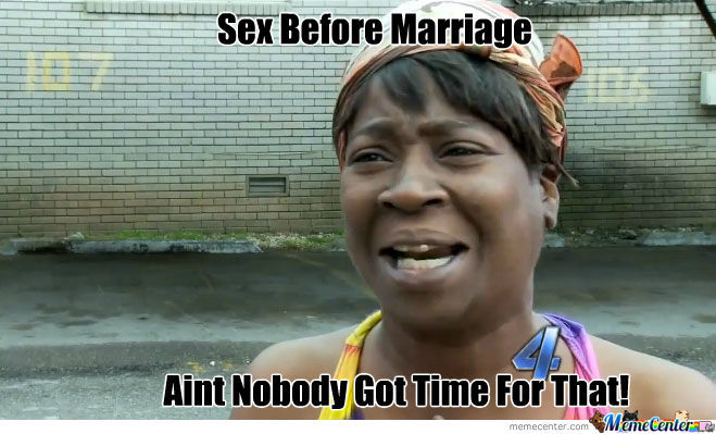 9. Sex before marriage?