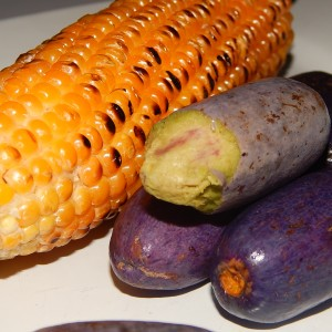 Corn and Pear (Ube)