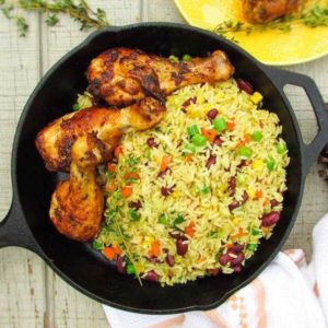Fried Rice + Chicken