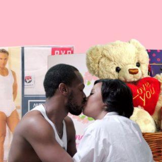 valentine's day gifts underwear, sex, hamper