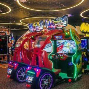 A trip to the arcade