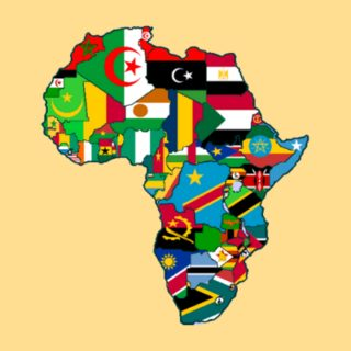 African countries and flags