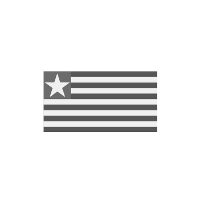 What are the colours of Liberia's flag?