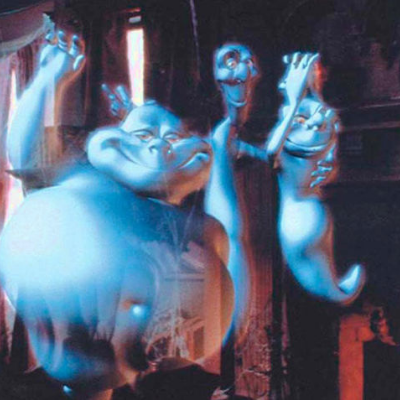 What are the names of the Ghostly trio?