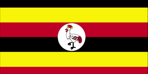 What is the official language of Uganda?