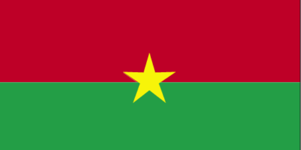 What is the official language of Burkina Faso?