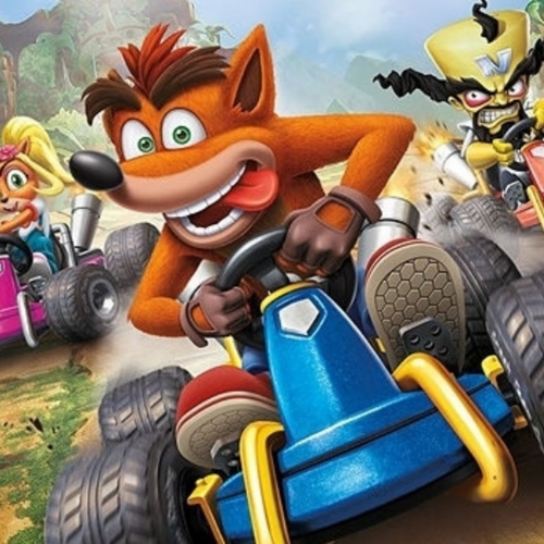 What racing game are these characters from?
