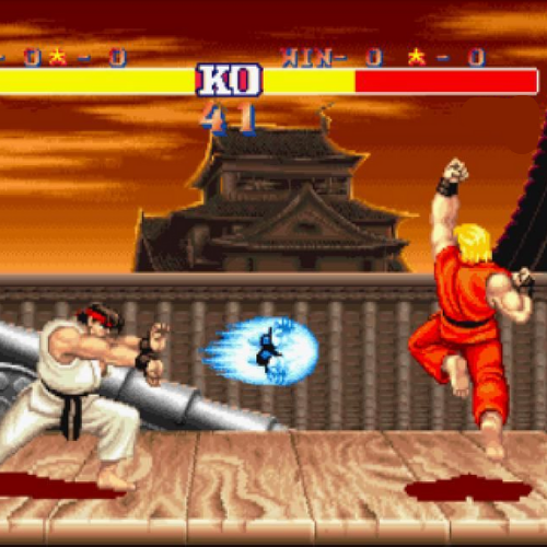 What fighting game is this screenshot from?