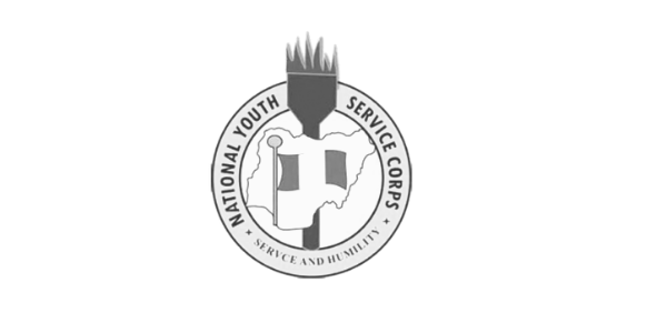 What's the colour of the flame on the NYSC logo?