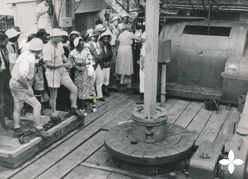 Where was oil first discovered in Nigeria in 1956?